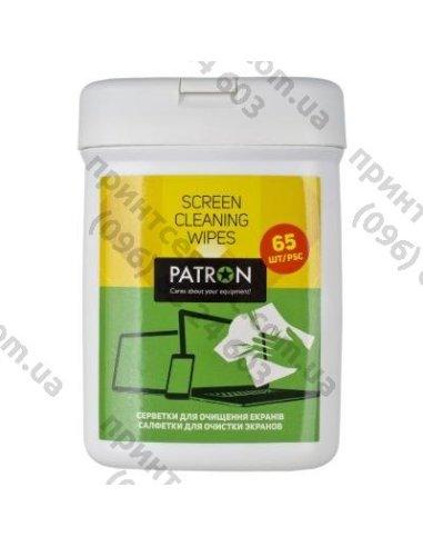 Салфетки PATRON для TFT/LCD/LED/Plasma 65шт