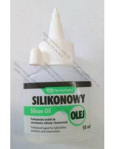 Масло силиконовое SILIKONOWY OLEJ AG Termopasty (AGT-014) 50ml.