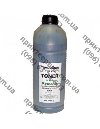 Тонер KYOCERA TK-5140/5195/5215/5305/8115 1кг Black Tomoegawa (TG-KM6030B-1)