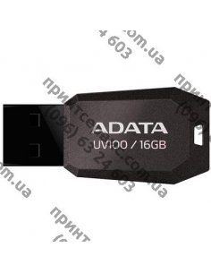 USB флеш накопитель ADATA 16GB DashDrive UV100 Black USB 2.0