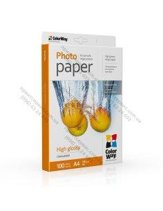 Бумага CW глянцевая 180г/м A4 PG180-100 карт. упаковка