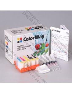 КПК ColorWay Canon IP4200 без чипа (чернила 4х100)