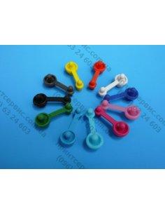 Резиновая 2-ная пробка для емкости с чернилами БО
