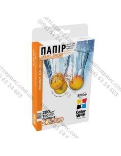 Бумага CW глянцевая 200г/м, 10x15 PG200-100 картонная упаковка