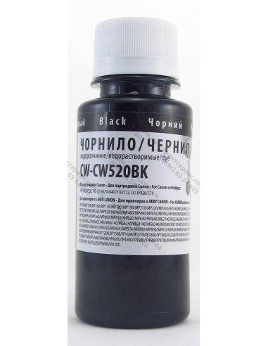 Чернила CW Canon PG-510/520/PG-37/CLI-8 100мл Black