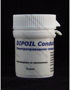 Смазка токопроводящая  BLACK CONDUCT 20г DIPOIL